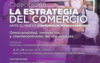 Capacitación: La estrategia del comercio ante el nuevo consumidor poscuarentena