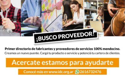 El IDC lanzó el primer catálogo provincial de proveedores para comercios minorista