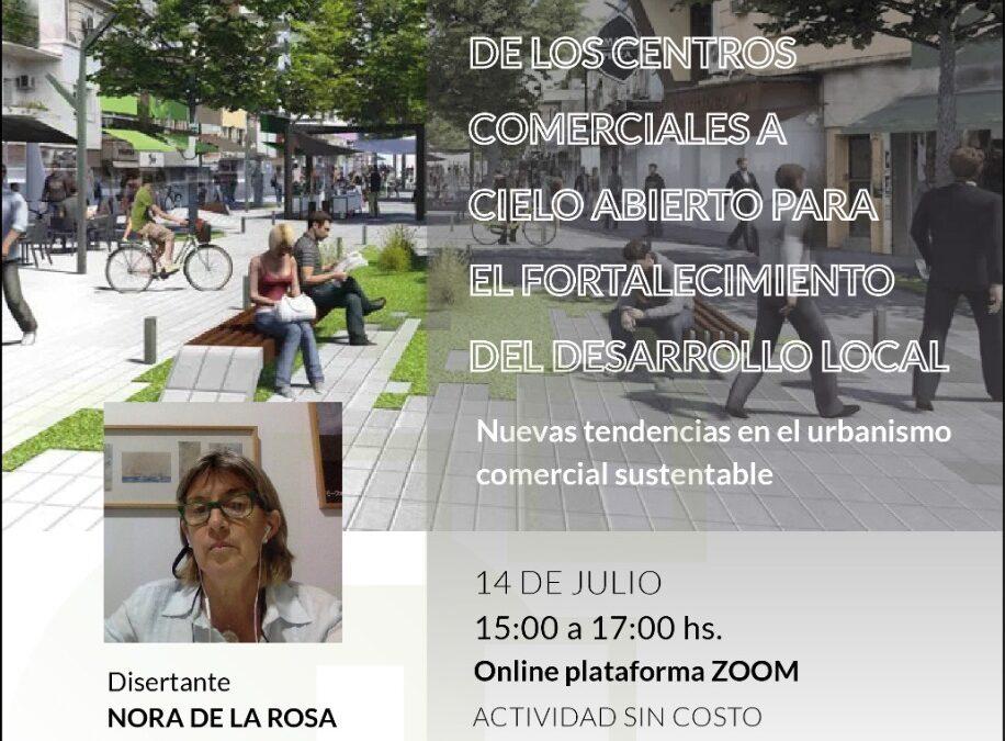 El IDC invita a una charla virtual sobre la importancia de los Centro Comerciales a Cielo Abierto